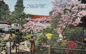 Oriental Tea Garden Golden Gate Park San Franicsco California