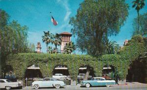 California Riverside Mission Inn Entrance  1961