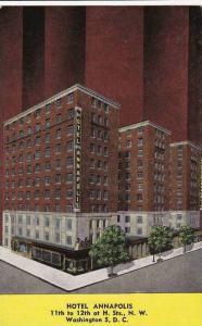 Hotel Annapolis, Washington, D.C., 1930-1940s