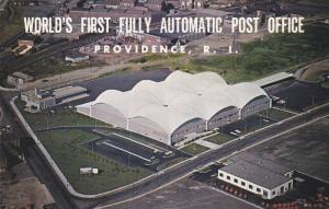 PROVIDENCE, Rhode Island, 1940-1960's; World's First Fully Automatic Post Office