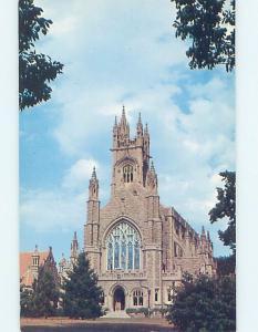 Unused Pre-1980 CHURCH SCENE Fairhaven Massachusetts MA A7235-12