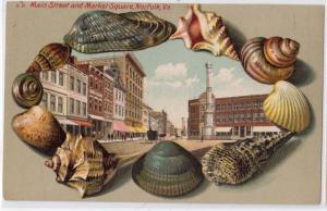 Shell Border - Main St & Market Square, Norfolk VA