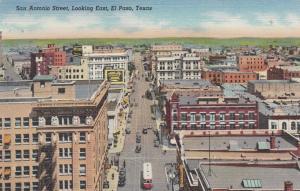 San Antonio Street, Looking East , EL PASO , Texas, 30-40s