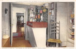 Salem MA Detroit Publishing~Hepzibah's Shop~Horsehead Cane~7 Gables House  c1910