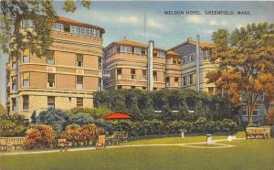 4478 MA Greenfield  1940's Weldon Hotel