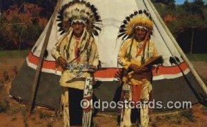 Chief White Cloud Indian Unused