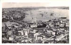 Turkey Old Vintage Antique Post Card Istanbul Real Photo Unused