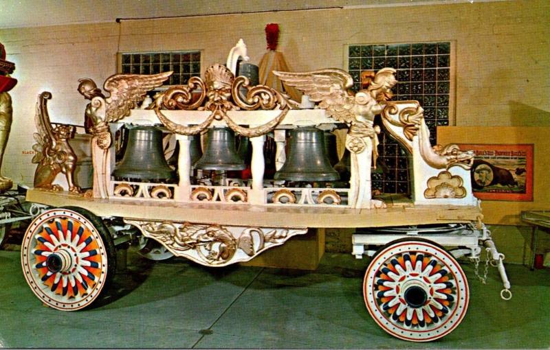 Florida Sarasota Circus Hall Of Fame Bell Wagon