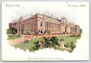 St Louis Missouri~World's Fair~Educational & Social Economy Building~1904