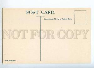231950 CEYLON Coat of arms STAMPS Vintage Zieher postcard