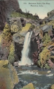 MANITOU, Colorado, PU-1912; Rainbow Falls, Ute Pass, version 2