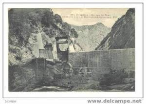 DAUPHINE, France, 00-10s  Gorges du Drac,Chambre d'eau et Barrage d'Avignonnet