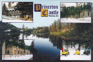Princeton Castle Nature Park Rainbow Lake Lodge Princeton British Columbia Ca...