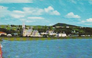 Canada Quebec Ste Anne De Beaupre Partial View Of The Village 1967