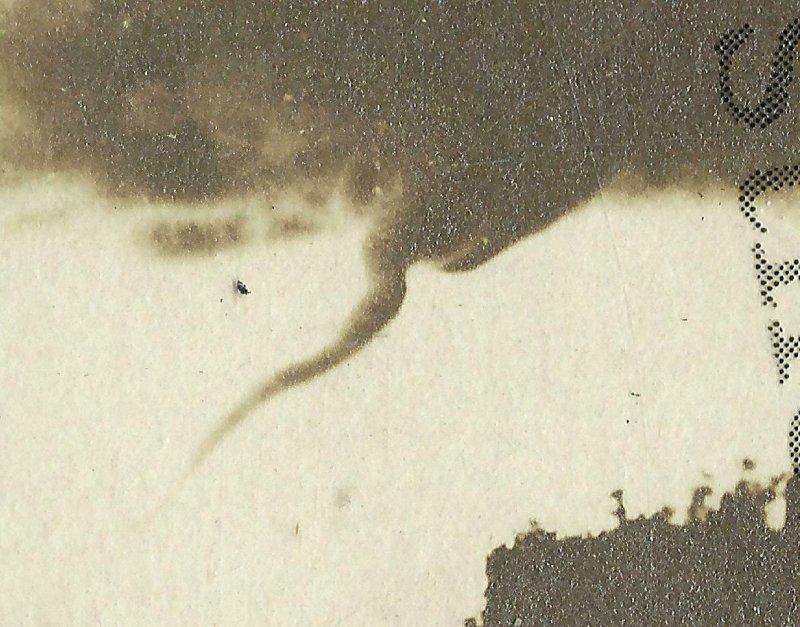 St. Cloud MINNESOTA RP 1909 TORNADO Cyclone Twister TOUCHING DOWN In Sky WOW!