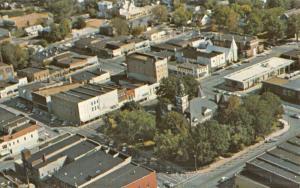 Paris Tennessee Birdseye View Of City Vintage Postcard K50999