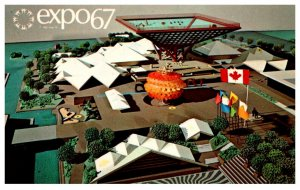 Canada Montral Expo 67   Canadia's Pavilion