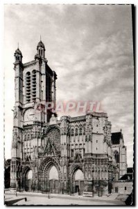 Modern Postcard Troyes La Cathedrale Saint Pierre Saint Paul