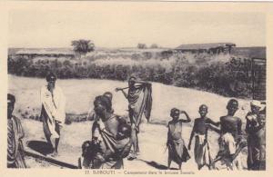 Children, Campement Dans La Brousse Somalis, Djibouti, Africa, 1910-1920s