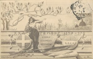 Italy - ROMA: XX Settembre 1870 - 1905 a Roma ci siamo e ci resteremo 04.29