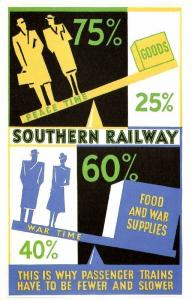 British Railways, Southern Railway in War and Peace Time