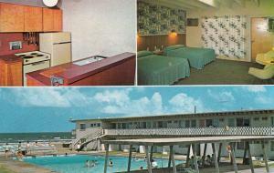 SOUTH PADRE ISLAND , Texas , 40-60s; Miramar Resort Motel, 3 views