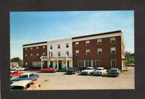 ME View Hotel Caribou nr Loring Air Force Base in Caribou Maine Postcard PC