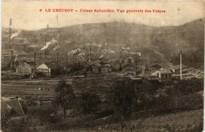 CPA Le Creusot Usines Schneider, Vue generale des Usines FRANCE (952901)