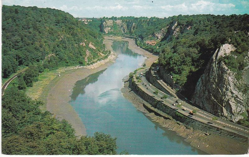 Post Card Somerset BRISTOL Avon Gorge