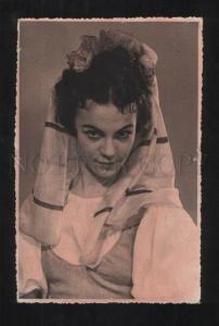 071044 KIRILLOVA Russian BALLET Star DANCER old REAL PHOTO