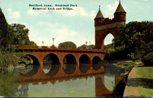 Connecticut Hartford Bushnell Park Memorial Arch and Bridge