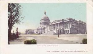 Washington DC The Capitol At Washington
