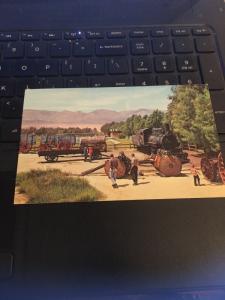 Vintage Postcard: Furnace Creek Ranch, Death Valley National Monument