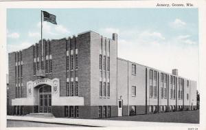 OCONTO, Wisconsin, 1900-1910's; Armory