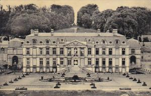 France Vallee De Chaevreuse Dampierre Facade interieure du Chateau Photo