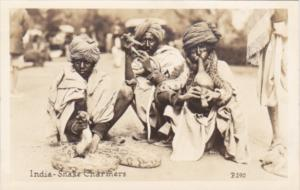 India Snake Charmers Real Photo From Canadian Pacific Cruise Lines