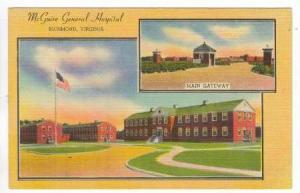 2Views, McGuire General Hospital, Richmond, Virginia, 1930-1940s