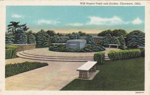 Will Rogers Tomb and Garden, Clarmore, Oklahoma, 30-40s