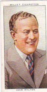 Wills Cigarette Card Radio Celebrities No 48 Jack Hylton
