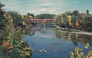 Covered Bridge at Conway NH, New Hampshire - Artist Favorite