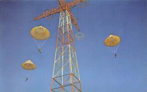 Fort Benning Georgia~1st Battalion Airborne Jump School~Parachute Tower 1960s