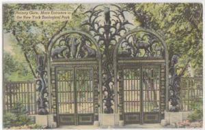 Rainey Gate Bronx Zoo NYC NY [linen-
