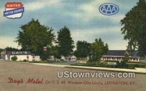 Days Motel, Linen Lexington KY Unused