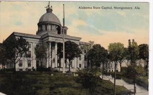 Alabama Montgomery State Capitol Building 1913