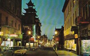 California San Francisco Chinatown Grant Avenue At Night