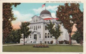 STERLING , Colorado, 30s-40s; Court House