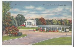 GA Atlanta Cyclorama Grant Park Civil War Battles Vtg Tichno