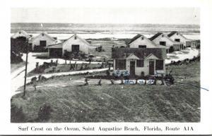 Florida St Augustine Beach Surf Crest On The Ocean