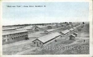Rockford, IL, USA Postcard Post Card Camp Grant