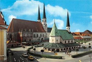 Alotting Oberbayern Gnadenkapelle und Stiftskirche Church Auto Cars